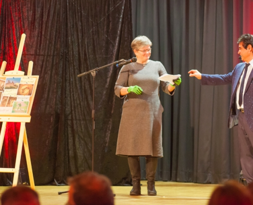 Magic Show Zeltingen Hamid Krimi