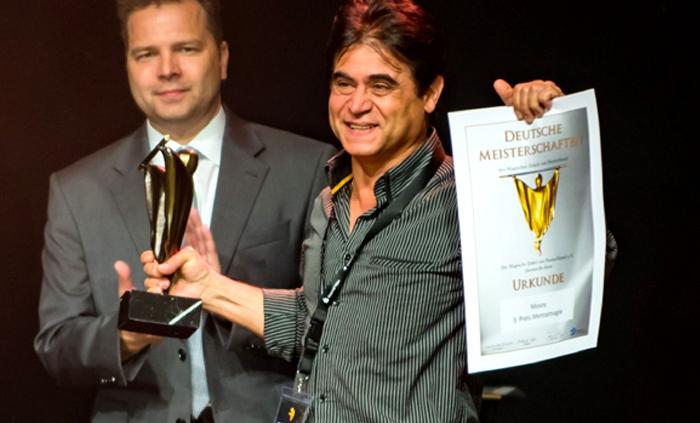 Deutschen Meisterschaft 2017 Hamid Mostofi