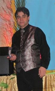Deutschen Show Preis Trophe Magier Hamid