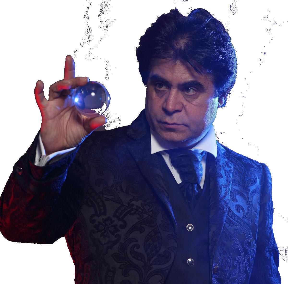 Zauberer - Mentalmagier Hamid Mostof