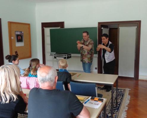 Zauberseminar bei Zauberschule Mosoy
