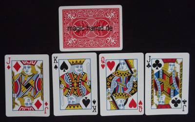 Mentalmagie mit Karten